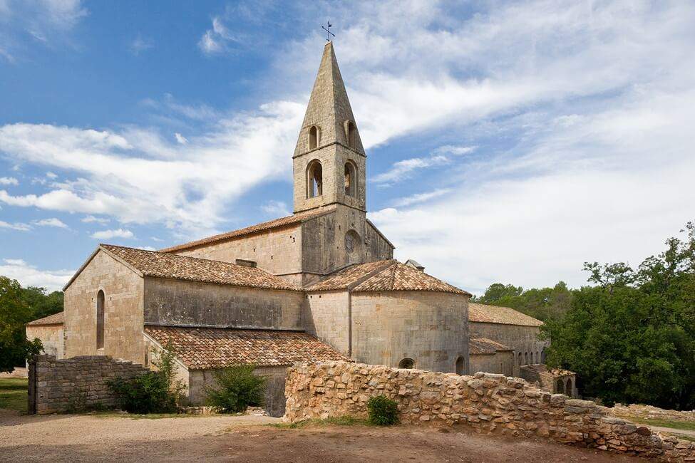 1. L'abbaye du Thoronet