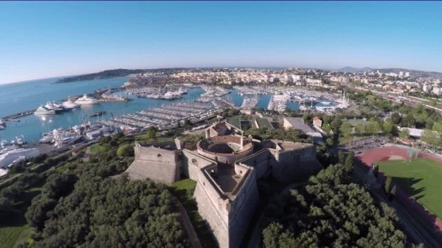 2. Le fort carré d'Antibes