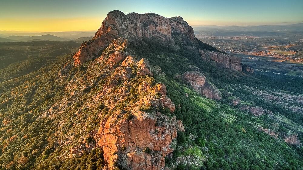 1. Le rocher de Roquebrune